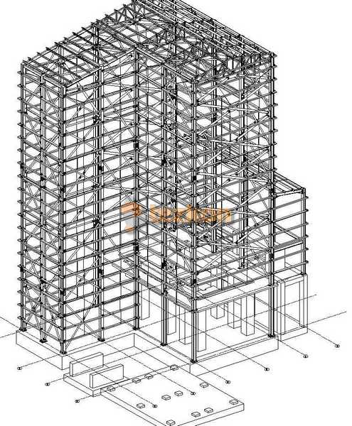 sanayi yapısı çelik statik proje