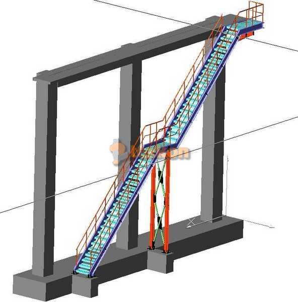 konveyör kayar bant statik proje kipaş