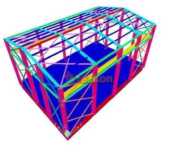 kipaş kağıt türbin binası statik proje