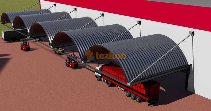 trapez çelik çatı statik proje