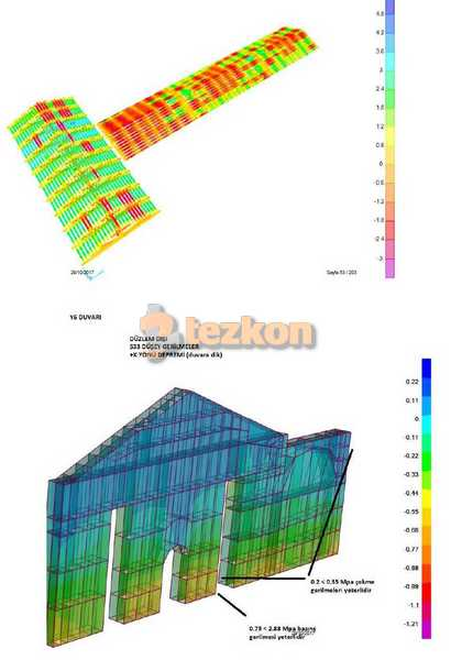 large firecracker center building static project strengthening stacking building