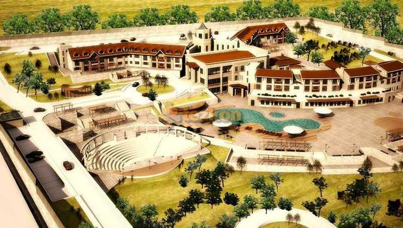 munzur tatil köyü otel statik proje