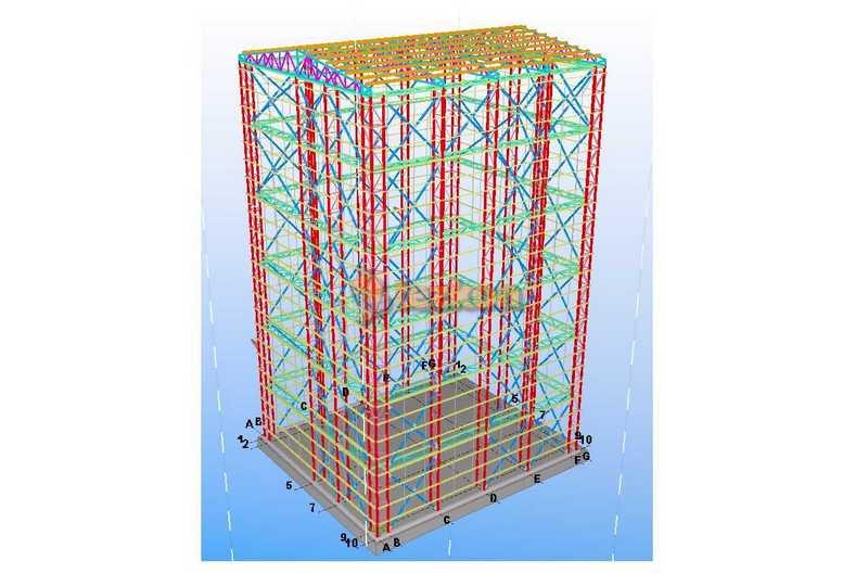 manisa kazan binası statik proje